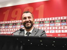 Diego Martínez alabó el caudal ofensivo de su equipo. EFE