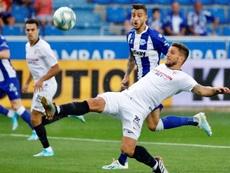 Carriço se despidió del Sevilla con una emotiva carta. EFE