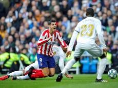 O Atlético de Madrid está devendo no ataque. EFE