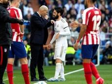 Isco no tiene la menor intención de abandonar el Real Madrid este año. EFE/Archivo