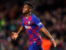 Ansu Fati, ¿el 'fichaje' del Barça B en el 'play off'? EFE/Alejandro García