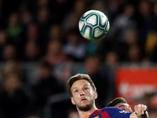 Rakitic would only leave Barça to return to Sevilla. EFE