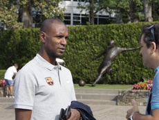 Abidal has started to lose Barça's confidence. EFE