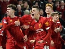 El Liverpool se impuso por la mínima al Shrewsbury Town. EFE