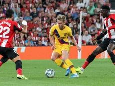 De Jong tem números parecidos ao do Ajax. EFE/Miguel Toña
