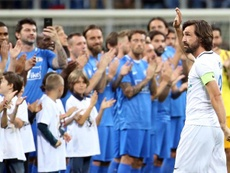 Andrea Pirlo é cotado para assumir o comando da Juventus. EFE/Matteo Bazzi/Arquivo