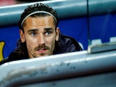 Lasarte thinks Griezmann is sad at Barcelona. EFE