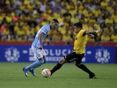 Barcelona puso rumbo a Lima. EFE