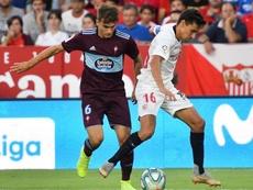 El Celta fue el primer y el último equipo que le quitó puntos al Sevilla en el tramo final. EFE