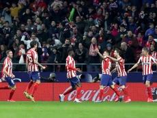 El Atleti ha hecho bastante daño al Granada últimamente, sobre todo en Madrid. EFE/Archivo