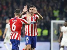 Savic ve al Atlético lanzado y considera que podrían hacer grandes cosas. EFE