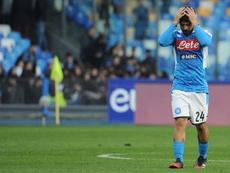 El Nápoles ya está a 13 de Champions. EFE