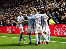 El Celta venció 'in extremis' al Sevilla. EFE