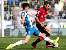 Dani Rodríguez hizo el sprint más rápido de la Liga. EFE