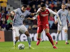 Murillo estará disponible para jugar contra el Madrid. EFE/Salvador Sas