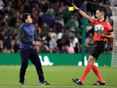 Sanchez Martinez played down the controversy after Betis versus Barcelona. EFE