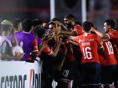 Independiente pide albergar la final de la Libertadores. EFE/Juan Ignacio Roncoroni
