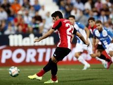 Raúl García ya ha hecho historia con el Athletic. EFE