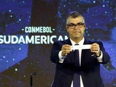 La CONMEBOL se anticipa con los pagos por la crisis del coronavirus. EFE/Andrés Cristaldo