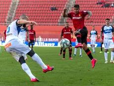 El Mallorca venció por la mínima al Alavés. EFE
