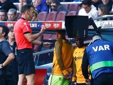 Nueve de diez jugadas han sido desfavorables para el Betis. EFE