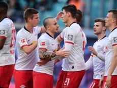Líder momentáneo de la Bundesliga con 45 puntos. EFE/EPA