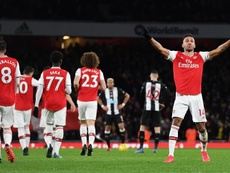 El Arsenal volvió a sonreír. EFE
