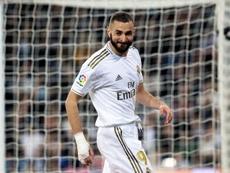 2020 diminui a capacidade goleadora de Benzema. EFE