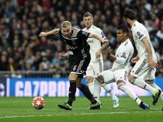 Van de Beek vuelve a Madrid. EFE