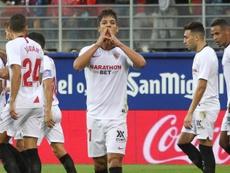 El Sevilla ya viaja a Rumanía. EFE