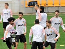 El Valencia planea volver a Paterna el 13 de abril. EFE/Manuel Bruque