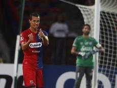 DIM golpeó primero ante Atlético Tucumán. EFE/Luis Eduardo Noriega