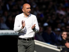 Abelardo admitió que hubo jugadores sin actitud en el 5-0. EFE