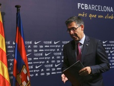 Bartomeu holds emergency meeting with Barça's Executive Committee. EFE