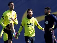 Elogios para Messi. EFE