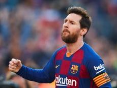 Messi scored 4. EFE
