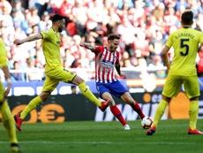 Atlético de Madrid - Villarreal: onzes iniciais confirmados. EFE