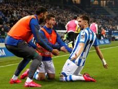 La Real Sociedad es finalista y estará en Arabia Saudí. EFE/Juan Herrero