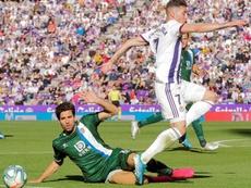 El Espanyol jugó más de 65 minutos con uno menos. EFE
