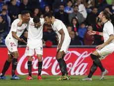 El Sevilla se remite a la cláusula de 90 millones de Koundé. EFE