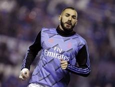 Karim Benzema a taclé Olivier Giroud. EFE
