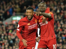 El Liverpool iguala a 'Los Invencibles'. EFE/EPA/PETER POWELL
