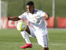 Barca made an offer for Rodrygo. EFE