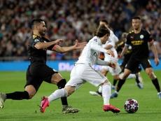 El City ganó al Madrid. EFE