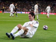El Real Madrid corrió menos que su rival. EFE