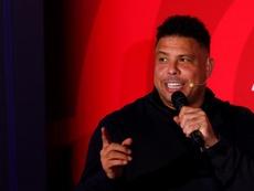 Ronaldo, presidente del Valladolid, no quiere vender el club. EFE