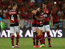 Flamengo ya lleva tres títulos en 2020. EFE