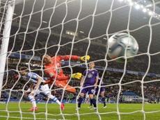 La Real Sociedad venció al Valladolid en el Reale Arena. EFE
