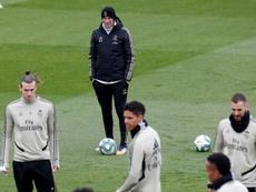 Zidane is looking towards the future. EFE