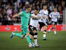 Luka Modric se confie sur son avenir. EFE